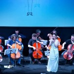 Concert with the 100 cellos- Teatro dell'Arte- Milano, Italy- V. 2014